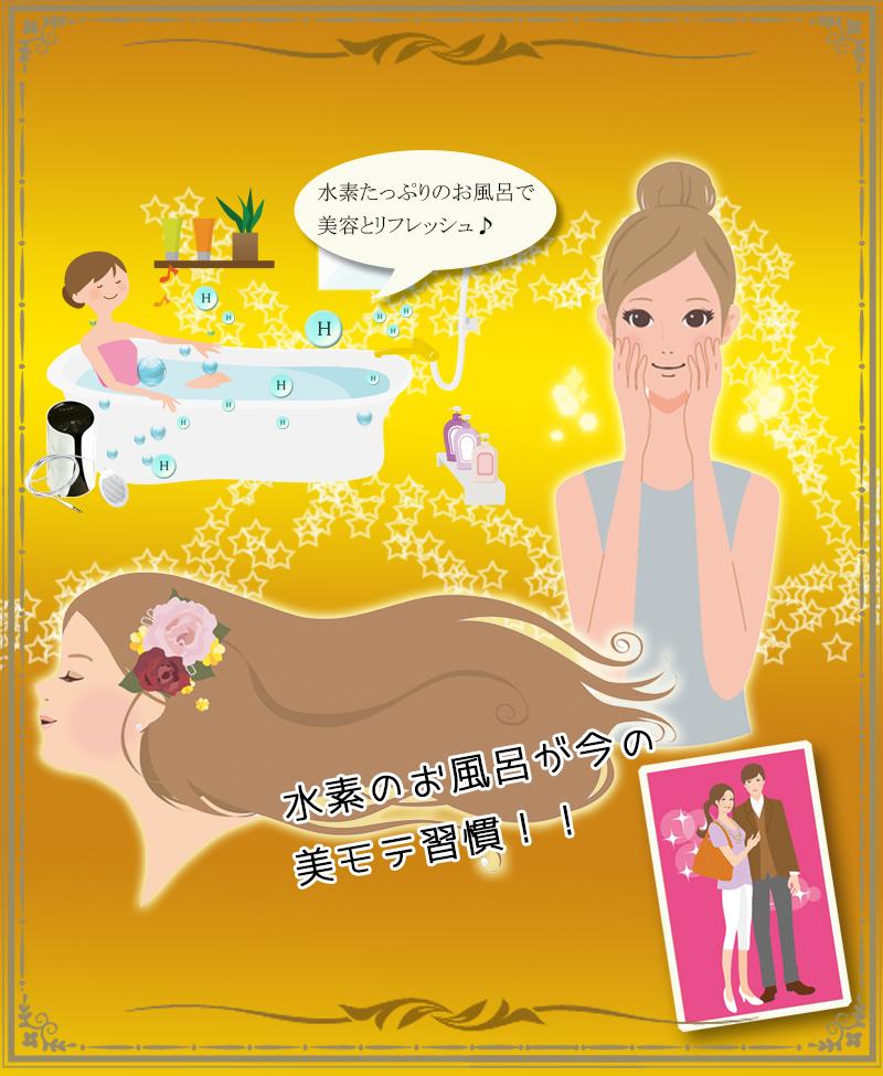 リタライフを使ったら金色に輝く美容が手に入るようなイメージ。美しくモテてる習慣です。