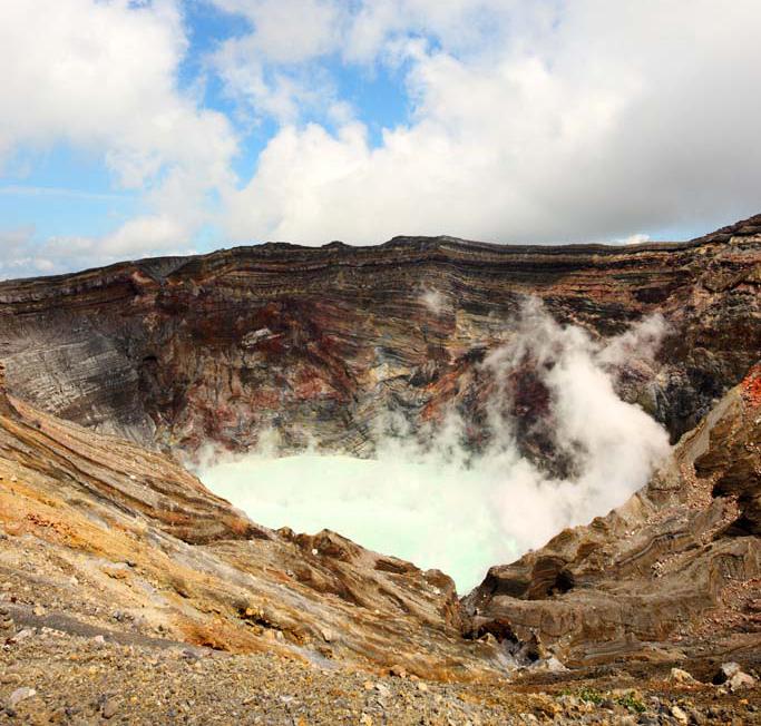 火山国日本